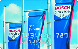 Yingling's Auto Service | Bosch© service credit card